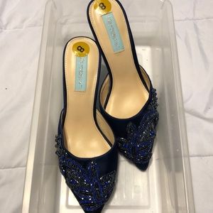 Bedazzled small heels